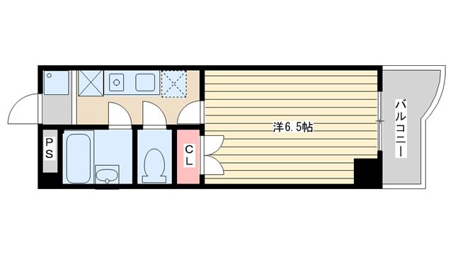 物件番号: 1025848784 ベルメーユ滝原  神戸市垂水区名谷町谷町字北野 1K マンション 間取り図