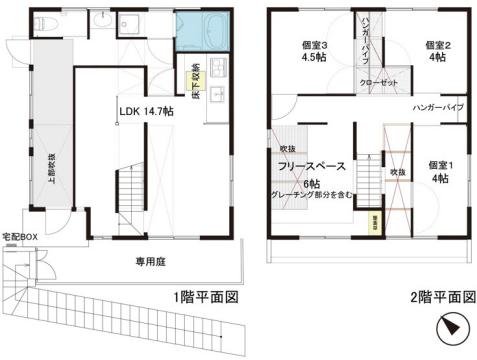 物件番号: 1025874261 Y'sHouse RD-07  神戸市須磨区禅昌寺町1丁目 3SLDK 貸家 間取り図