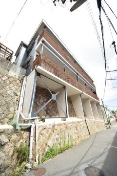 物件番号: 1025884174 999ビタミンテラス新神戸  神戸市中央区中尾町 1LDK アパート 間取り図