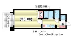 スワンズコート新神戸 602の間取