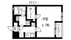 PRAFU会下山 202の間取