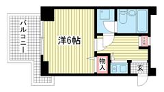 ライオンズマンション大倉山公園 201の間取