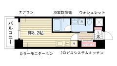 ラナップスクエア神戸ハーバープライム D-204の間取