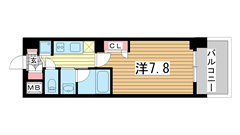 ラナップスクエア神戸ハーバープライム 209の間取
