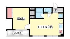 シルフィードARATA(旧:吉田マンション 506の間取