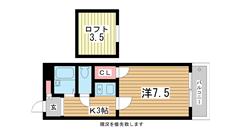 三木HOUSE 203の間取