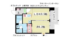 インベスト神戸エアフロント 507の間取