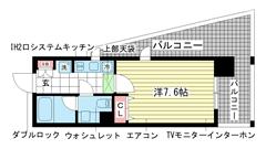 インベスト神戸エアフロント 703の間取