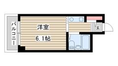 アルテハイム神戸・県庁前 703の間取