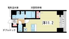 レオンコンフォート神戸西 1004の間取