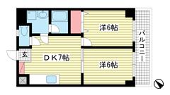 Apartments大倉山 303の間取