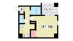 ヴィラ神戸Ⅱ 604の間取