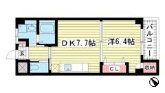 夢野アパートメント 103の間取