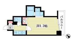 W-Style神戸 603の間取