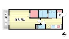 KUDOUマンション 202の間取