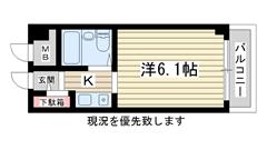アルテハイム神戸・県庁前 404の間取