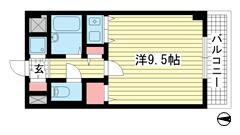 コーラルウェイⅡ 508の間取