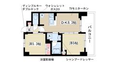 エステムプラザ神戸西Ⅳインフィニティ の間取