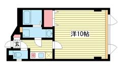 神戸興安亭ビル 4Fの間取