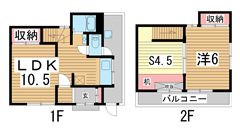 須磨区天神町戸建 P1-2の間取