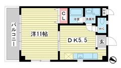 Apartments大倉山 205の間取