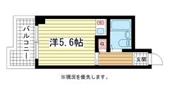 アルテハイム神戸・県庁前 403の間取