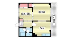 国香レジデンス(旧:マトヤマンション 302の間取