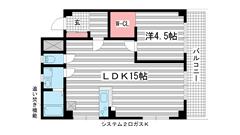 国香レジデンス(旧:マトヤマンション 305の間取