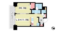 ザ・神戸北野レジデンス 502の間取