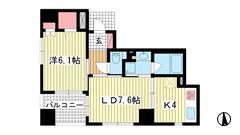 ワコーレ神戸元町マークス 12Fの間取