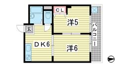 グランデF・K 203の間取