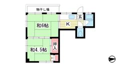 藤マンション 3F-Sの間取