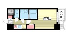 ファステート神戸アモーレ 701の間取