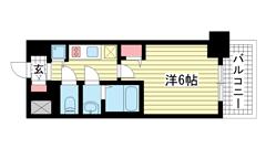 ファステート神戸アモーレ 1002の間取