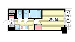 ファステート神戸アモーレ 703の間取
