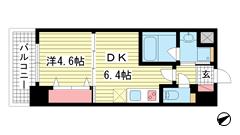 アルデール兵庫 605の間取