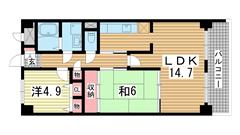 新神戸ネクステージ 702の間取