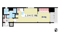 リーガル神戸三宮フラワーロード 904の間取
