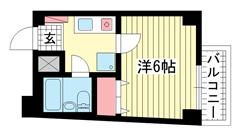 ライオンズマンション新神戸 201の間取
