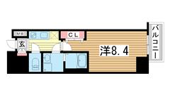 ファーストステージ神戸ハーバーランド 1301の間取