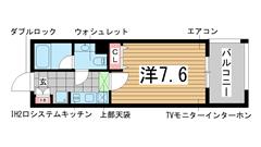 インベスト神戸エアフロント 601の間取