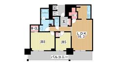 アーバンライフ神戸三宮ザ・タワー 605の間取