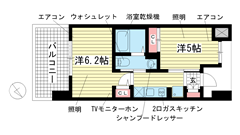 エステムプラザ神戸西Ⅴミラージュ 803の間取