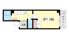 藤橋マンション 402の間取