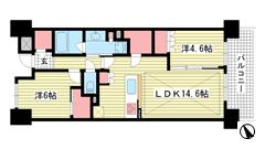 パークホームズ神戸ザレジデンス 2017の間取