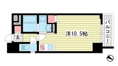 SDグランツ神戸大開通 303の間取