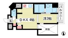 THE GRID北野坂 602の間取