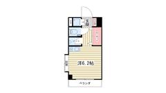 ワコーレプラティーク神戸深江駅前 801の間取