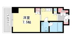 アクセスメゾン神戸 402の間取
