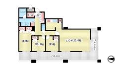 D'グラフォート神戸三宮タワー 1205の間取